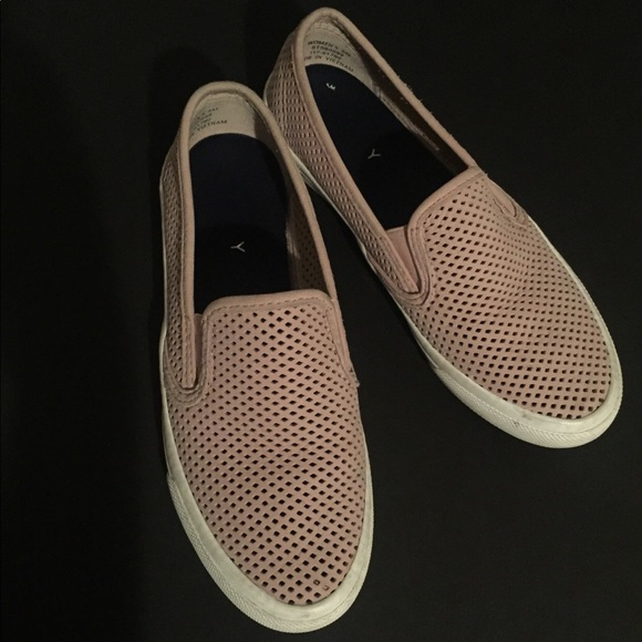 Sperry Shoes - Sperry Leather Slip-On Sneakers